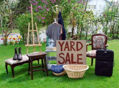 Garage Sale & Estate Sale Services | The Organizing Lady