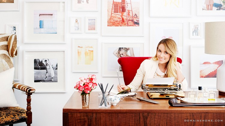 Lauren-Conrad-office