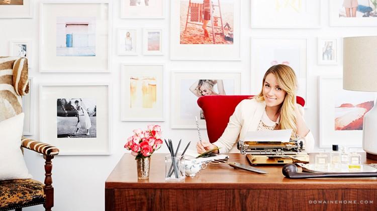 Lauren-Conrad-office
