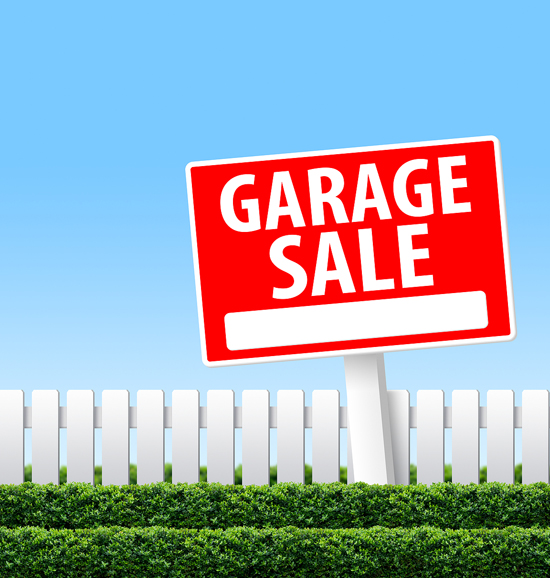 Home Garage Sales With A Professional Organizer
