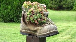 worn-shoe-planter