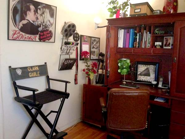 hollywhollywood styled home officeood styled home office