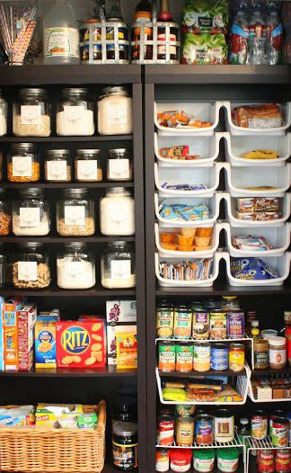 Ordinaire Ikea Bookcase For Food Storage