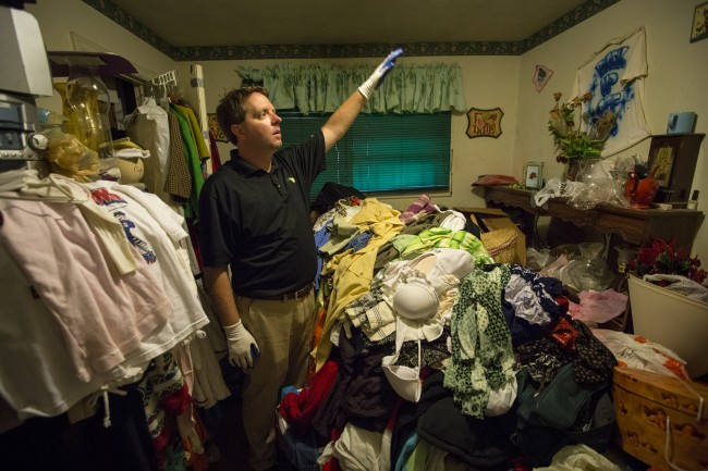 Matt Paxton of Hoarders