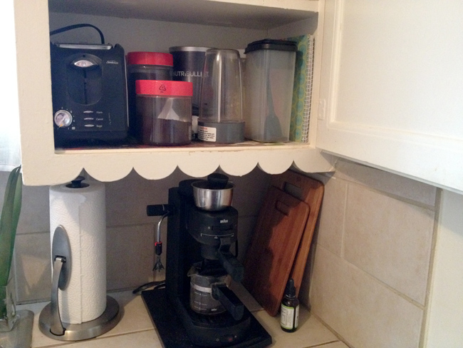 coffee cupboard