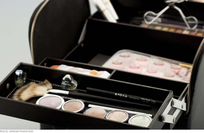 makeup case organizer