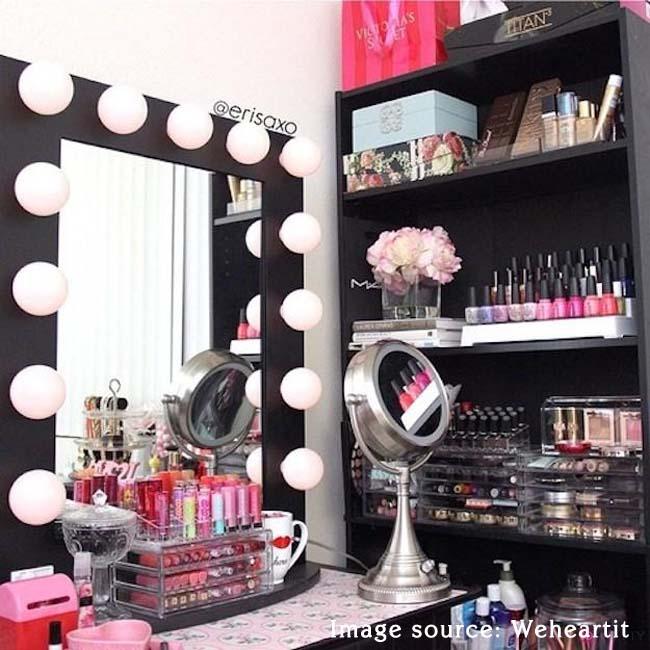 makeup vanity center