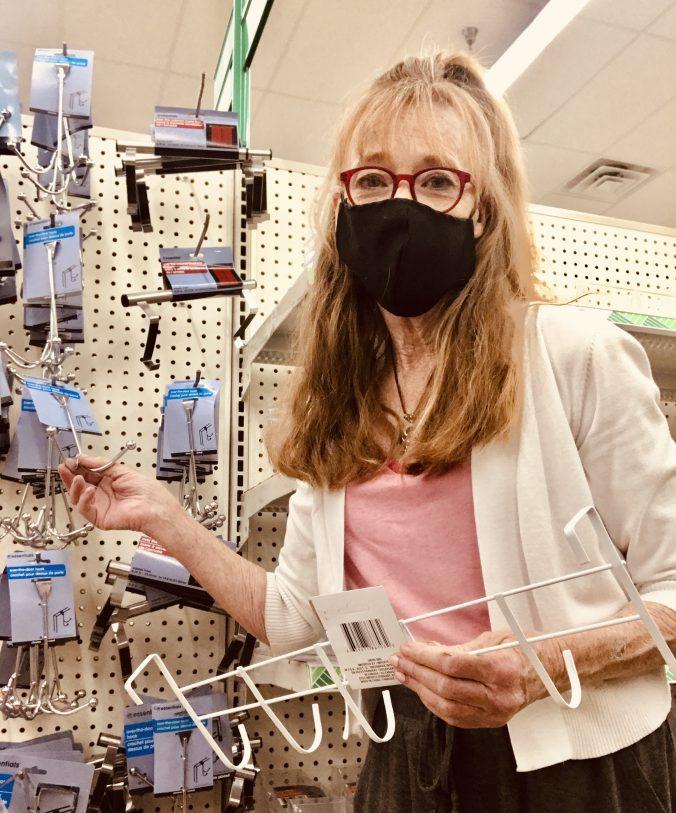Cyndi Seidler at Dollar Store